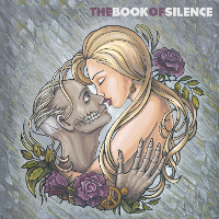 """The Book of Silence"" CD Cover  (paper 30 х 30 cm, acrylic, 2014)"