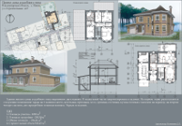 Project of a Country House  (Novoe village, Vladimir region, Russia)