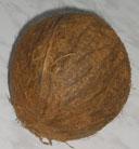Кокос (coconut) снаружи