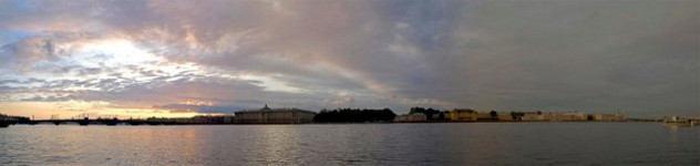 The Neva River Panorama