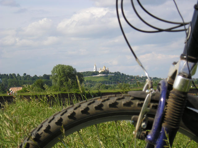Bicycle & Cathedral