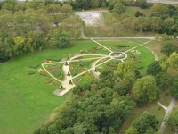 """Treble Clef"" in the Danube Park"