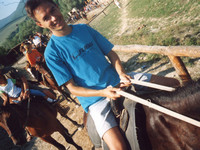2003.08.dd My first horse riding