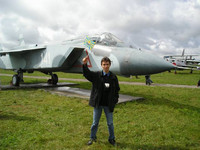 2004.08.15 At Yak-141 aircraft in the Central Museum of Russian Air Forces.
