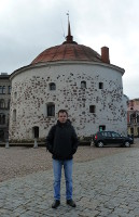 "2015.10.24 The well-known Round Tower of Vyborg, Russia, I had called ""Easter cake"" :-) from the very beginning"