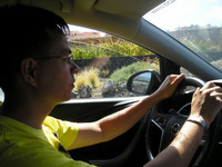 2016.05.24 The first time of driving a car rented abroad