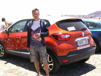2016.05.25 A Еuropian Renault Captur before its Russian version, Kaptur, started to be on sale