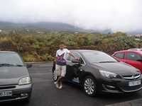 2016.05.26 Islas Canarias, Opel Astra, above the clouds