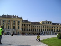 2016.09.16 Vienna, the Schönbrunn Palace is the major summer residence of Austrian emperors from the House of Habsburg