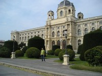 2016.09.16 Vienna, the Natural History Museum (Naturhistorisches Museum Wien) that was built by the House of Habsburg specifically as a museum because their residence (Hofburg) had not enough space for their huge collection of natural natural exhibits