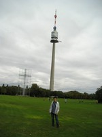 2016.09.18 Vienna, the Danube Park (Donaupark), the Danube Tower (Donauturm) that has never been a TV/radio broadcasting tower though it looks like