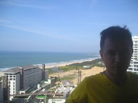 2017.06.03 A view from the 19th floor of Aloha Oceanfront Suite Resort to the Clear Water Bay and the South China Sea