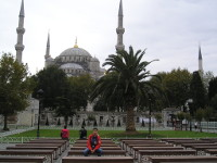 2017.09.30 At the square in front of the Blue Sultan Ahmet Mosque (Istanbul, Turkey)