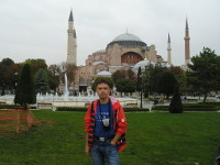 2017.09.30 At the square in front of the Hagia Sophia cathedral, mosque and museum (Istanbul, Turkey)