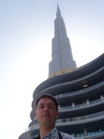 2018.06.05 I was inside and the top of Burj Khalifa, and here I am outside and at the foot of this beauty and the masterpiece of modern architecture!