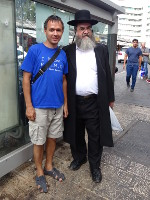 2018.09.07 To visit Jerusalem and not to take a picture with a real hasid would be a mistake (though it is not easy, because it seems that tourists for them are like annoying flies)