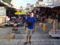2018.09.07 The first impression of the Old City of Jerusalem is that it looks like a dirty Bazaar; in this open-air museum they sell and live the way it was thousands of years ago