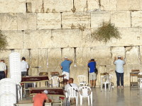2018.09.07 The Western Wall of the Jerusalem Temple is the place where you unintentionally recall sad things… :'-(
