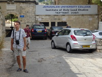 2018.09.09 Jerusalem University College is a theological academic institution formerly known as the American (!) Institute of Holy Land Studies