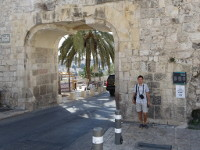 2018.09.09 The Dung Gate to the Old City of Jerusalem, contrary to its name, looks very decent