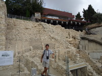 "2018.09.09 At the excavations of the ancient ""City of David"" – the oldest settlement of Jerusalem where King David built his palace"