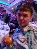 "2018.12.29 During the company's celebration of the New 2019 Year in ""Voznesenskaya Sloboda""; a little bit farther and at the left there is my colleague, a software developer"