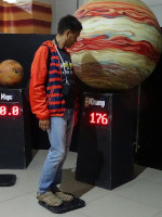 2019.06.18 Who can calculate my weight on Earth if on Jupiter I would weigh 176 kilograms? ;-)