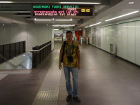 2019.10.03 The first time in the metro of Rome: all inscriptions are clear… if I knew Italian. :-)