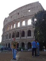 2019.10.03 I always dreamed of being photographed with the Coliseum – and now the dream has come true! :-)