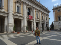 2019.10.03 At one of the three Capitoline Museums on Capitoline Square of Rome.