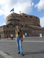 2019.10.03 The Сastle of the Holy Angel (Castel Sant'Angelo) has a tautological name but looks very unusual.