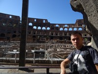 2019.10.04 Inside the Colosseum, view 1 of 12.