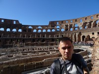 2019.10.04 Inside the Colosseum, view 2 of 12.