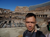 2019.10.04 Inside the Colosseum, view 8 of 12.